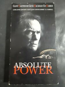 Absolute-Power-VHS-1997-Suspense-Thriller-Clint-Eastwood