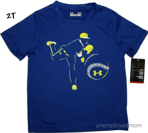 Under Armour T Shirt Boys Sports Athletic Cute Sayings Top Tee Little