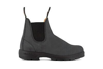 Blundstone Unisex 587 Rustic Black Leather Chelsea Ankle Classic Mens Boots Senility VerzöGern