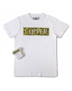T-Shirt Jersey Magic Coton Clipper Logo Aos Col Blanc Taille L Unisexe