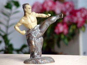 Sporting Goods Boxing, Martial Arts & Mma Statuetta Taiji Kung Fu Stile Tai Chi Ying Yang Cinese Style Figurine Wing Tsun