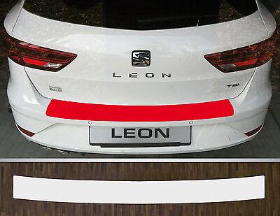 LADEKANTENSCHUTZ Lackschutzfolie für SEAT LEON 3 ST ab 2013 Typ 5F transparent