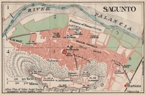 Map Of Spain 1930.Details About Sagunto Vintage Town City Map Plan Spain 1930 Old Vintage Chart