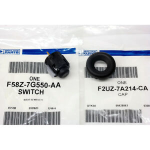 Details about Ford Transmission Overdrive Lockout Switch Gear Shifter  Button & Cap Bezel OEM