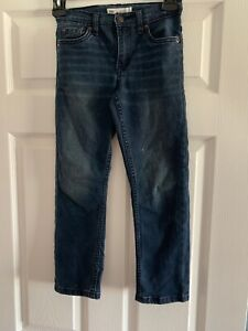 Levis-039-s-Kids-Boys-511-Slim-Fit-Jeans-Regular-Size-7-Good-Condition-Streachy