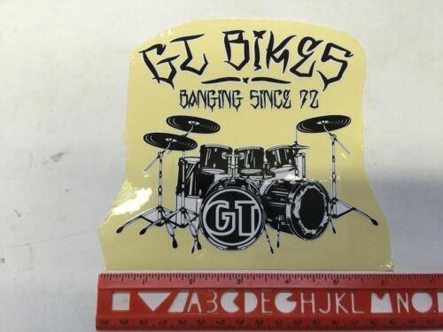 STICKER BANGING SINCE 1972 DECAL -BMX STICKER RETRO GT BIKES