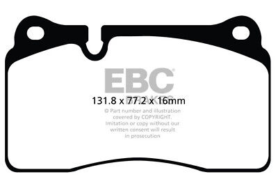EBC YellowStuff Brake Pads for SEAT Leon 5F DP42127R