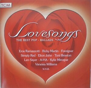 Love Songs-The best Pop-Ballads (16 tracks, 2005) Eros Ramazzotti, Toni B.. [CD]