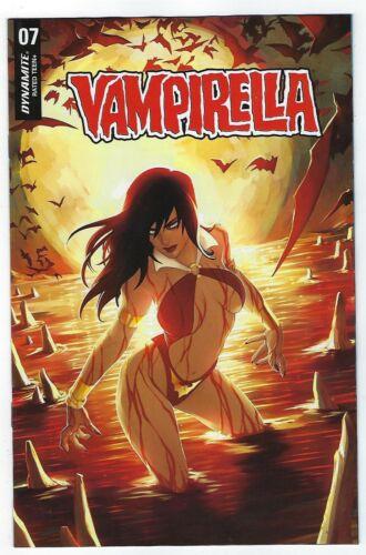 Vampirella # 7 Hetrick FOC Variant Dynamite NM