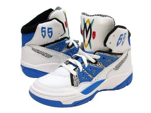 Adidas Originals Men/'s Mutombo NEW AUTHENTIC White//Blue G99903