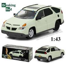 GREENLIGHT 86498 WALTER WHITE'S 2004 PONTIAC AZTEK BREAKING BAD DIECAST CAR 1:43