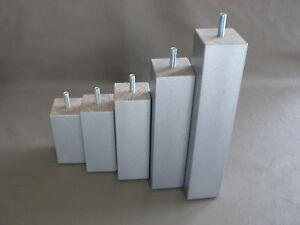 tischbein m belf e m belbein holz m8 buche grau h 10 12. Black Bedroom Furniture Sets. Home Design Ideas