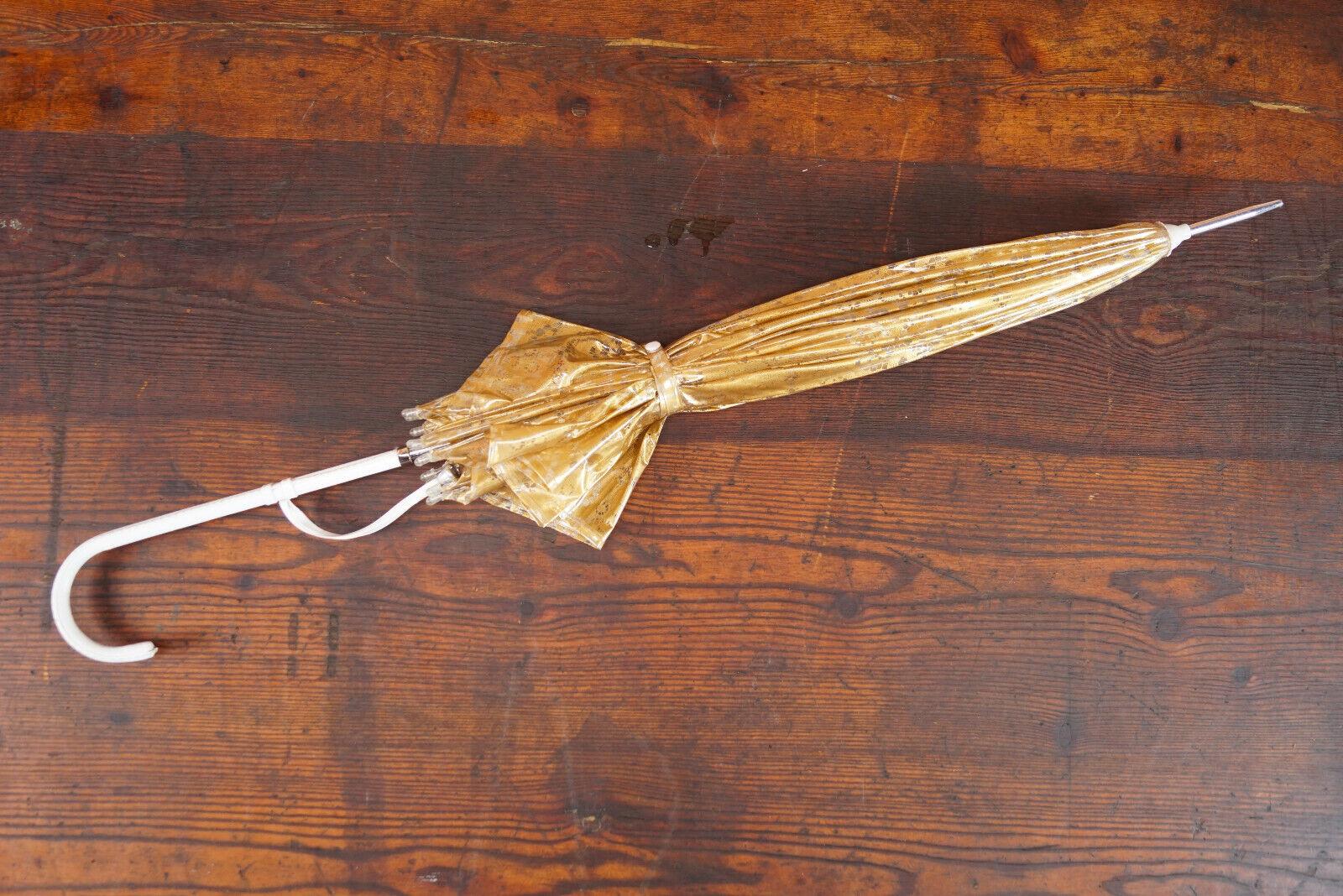 70er True Vintage Umbrella Retro Sunshade Umbrell… - image 8