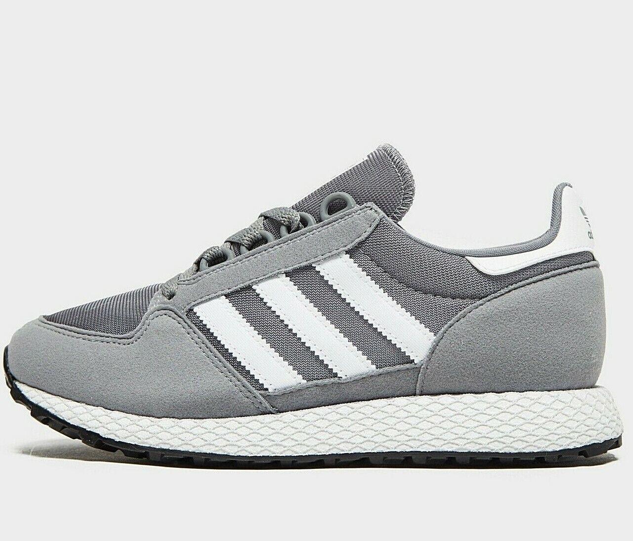 Adidas Originals Forest Grove ® (Größes UK  5 EUR 38 ) grau   Weiß NEW
