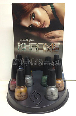 *HARD TO FIND* China Glaze - KHROME Collection Choose Any Color x .5oz