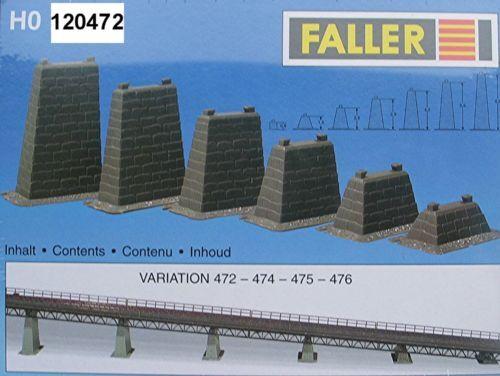 Faller 120472 HO 6 Pfeiler #NEU in OVP#