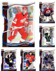 2001-02-Pacific-CROWN-ROYALE-PICK-YOUR-CARD-From-The-BASE-SET