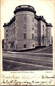 1905-WORCESTER-MASS-WOMEN-039-S-CLUB-POSTCARD-KK2