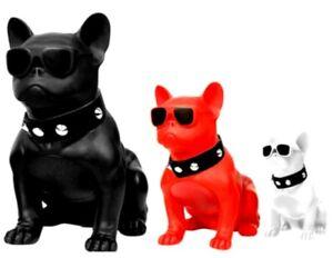 Bulldogge Mops Wireless Bluetooth Lautsprecher-tragbar Ganzkörper Dog Stereo Lautsprecher UK