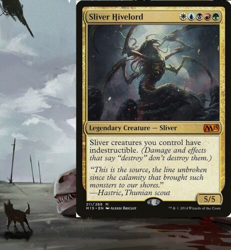 SLIVERS Commander EDH Deck **Sliver Hivelord** Custom Magic Pre-Built MTG Deck
