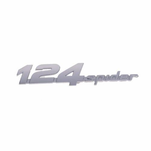 17-18 FIAT 124 SPIDER LIFTGATE TRUNK DECKLID EMBLEM NAMEPLATE BADGE OEM MOPAR
