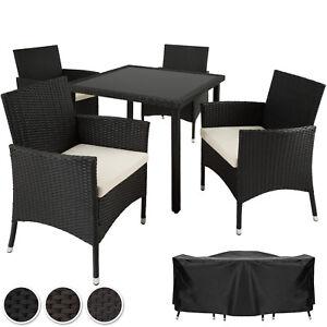 Set di mobili da giardino poli rattan arredamento set 4 sedie tavolo ebay - Ebay mobili da giardino ...