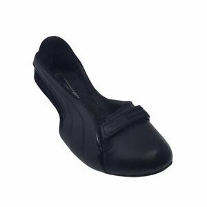 Puma-Ballet-Flats-Driving-Shoes-Black-Women-039-s-Size-6-5