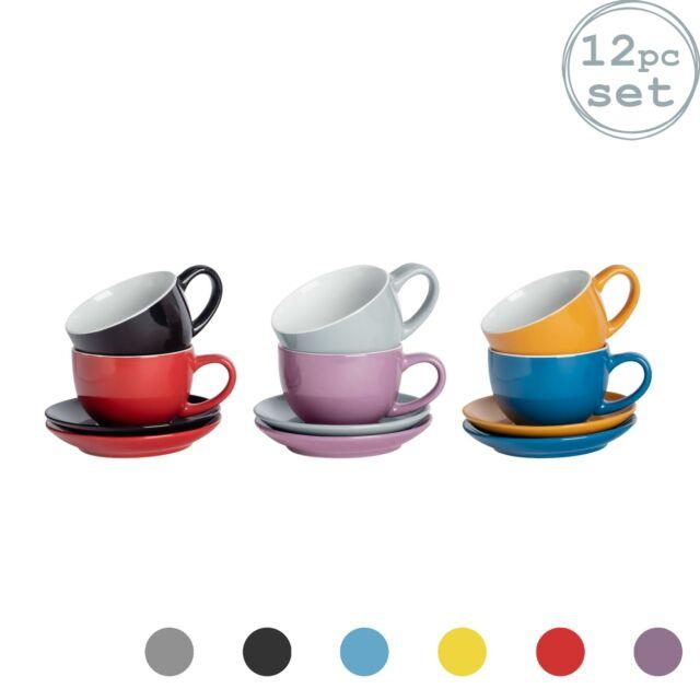 Cappuccinotasse mit Untertasse Tasse Kaffeetasse mit Löffel Kaffee Porzallen ASA