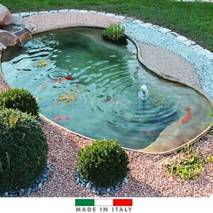 Laghetto giardino termoformato vetroresina carpe for Laghetto vetroresina