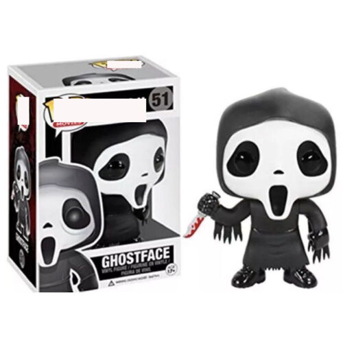 Ghostface Figure PVC Model Collection Figurine Toys Gift New Funko POP Scream