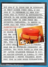 AIRONE984-PUBBLICITA'/ADVERTISING-1984- PICO-GLASS - GLOBETROTTER 2 BORSA FOTOGR