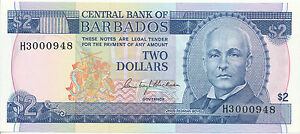 2 Dollars 1980 Unc Pick 30a Beneficial To Essential Medulla The Cheapest Price Barbados