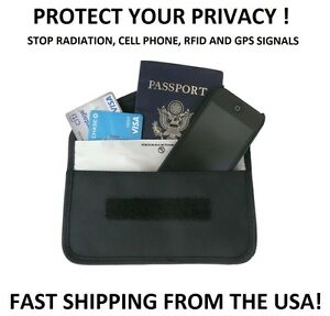 Cell-Phone-GPS-RFID-Signal-Blocker-Pouch-Wallet-Prevent-Stop-Tracking-Spying