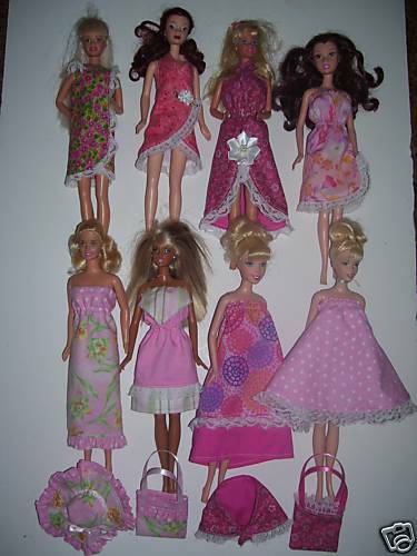 NG Creation Sewing Pattern #PP70 Makes 8 One Piece Sundresses fits Barbie Doll