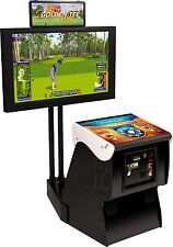 2017 Golden Tee Golf Live Arcade Game With Monitor Stand (NIB)