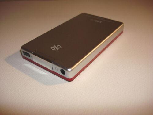 SSD  DRIVE...NEW  BATTERY... MICROSOFT  ZUNE  RED  CUStOM    128GB