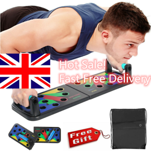 9 in 1 Push-up Board Stand Fitness Workout Gym Chest Muscle Training Exercise A+