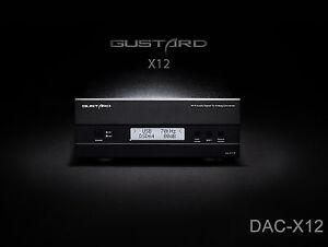 GUSTARD-DAC-X12-DAC-ES9018-OPTIC-Coaxial-XMOS-USB-Asynchronous-384KHZ-DSD64-128
