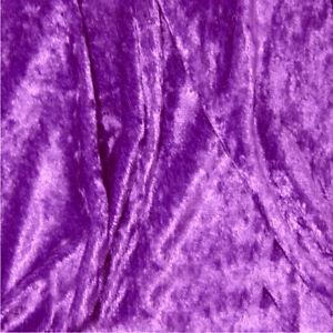 Crushed-Velvet-Panne-Fabric-Plain-CLOTHING-Decor-Upholstery-Backdrops-150cm-wide