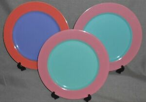Set-3-Lindt-Stymeist-COLORWAYS-PATTERN-Dinner-Plates-TWO-COLOR-COMBOS