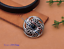 10X-Bohemian-3D-Flower-Turquoise-Conchos-For-Leather-Craft-Keychian-Wallet-Decor miniatuur 33