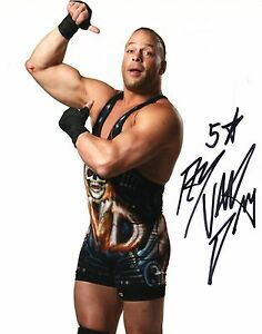 Wwe signed photo rvd rob van dam wrestling 8x10 ecw - Wwe rvd images ...