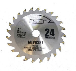 4 100mm carbide 24 tooth blade for dremel table saw 580 580 2 588 1 image is loading 4 034 100mm carbide 24 tooth blade for greentooth Choice Image