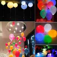 Led Light Paper Lantern Waterproof Balloon Floral For Wedding Party Sea
