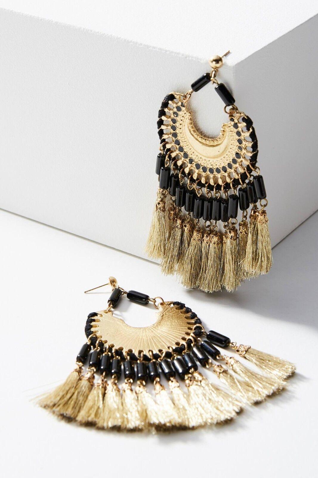 bc63e32661e64 Earrings Drop Fringed Anthropologie by Daria NWT - Shiraleah ...