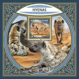 Sierra-Leone-2017-Hyenas-on-Stamps-Stamp-Souvenir-Sheet-SRL171211b
