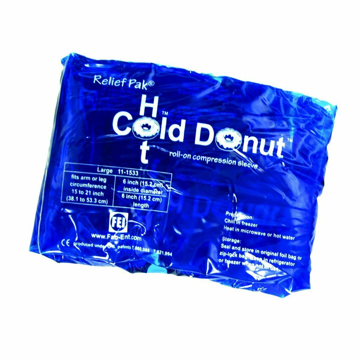 Relief Pack Cold Hot Donut Injury Therapy Heat Ice Sport Surgery Compression 1