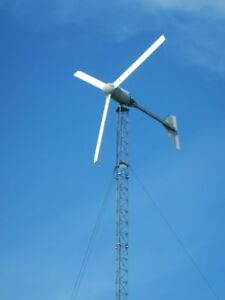 Details about 10kW Bergey Wind Turbine on 100 foot Lattice Tower