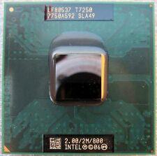 SLA49 Intel Core 2 Duo Mobile T7250 2GHz/2M/800MHz Socket P Processor
