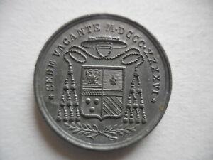 Vaticano Medaglia Sede Vacante 1846 Roberto Roberti Uditore Generale 40 Esemplar Ebay